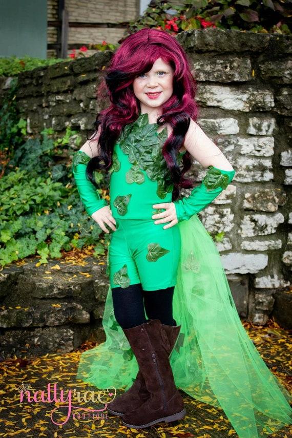 Poison Ivy Costume Batman Costume Halloween Villain Etsy
