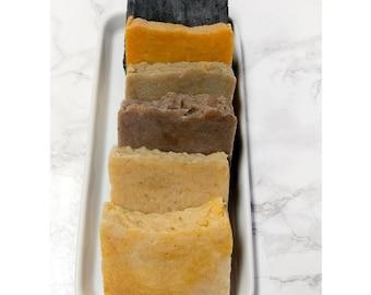 Handmade Soap Bars, All Natural Herbal Soap, Shaving Bar Soap, All Natural Bar Soaps