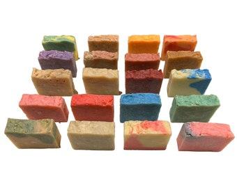 Handmade Soap Bars, Scented Moisturizing Soap, Bay Rum Shaving Bar Soap, Scented Bar Soaps