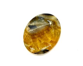 Collector Simbircite Healing stone Designer Cabochon Energy stone RARE Russian Simbircite 76x57x5mm HUGE Simbircite cabochon