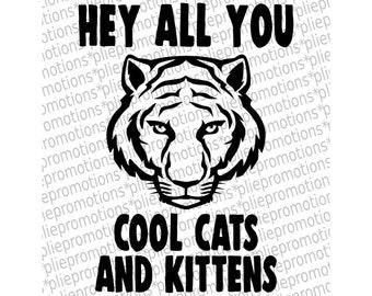 Big Cats Svg Etsy
