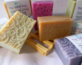 SOAP - Lanolin-Enriched Cold-Process Hand-Crafted Bar Soap