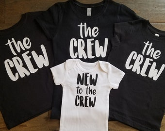 c0b1436dd12 New to the Crew Sibling Shirt Set