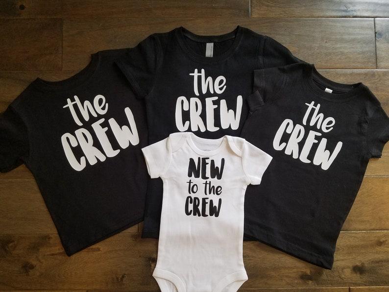 7884096ef New to the Crew Sibling Shirt Set Style 1 Sibling Shirts   Etsy