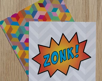 """Replacement Card """"Zonk"""" — Oh Those Monsters: Memory Game"""