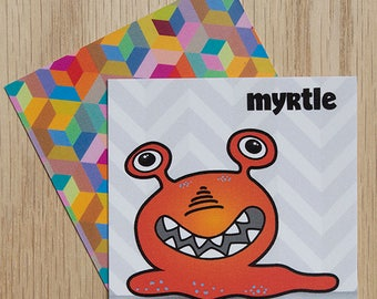 """Replacement Card """"Myrtle"""" — Oh Those Monsters: Memory Game"""