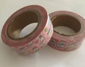 Mason jar washi tape | Etsy