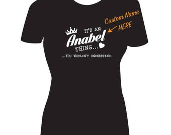 Custom Name T-Shirt / Women's Name Shirt