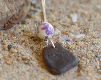 California Genuine Seaglass Necklace