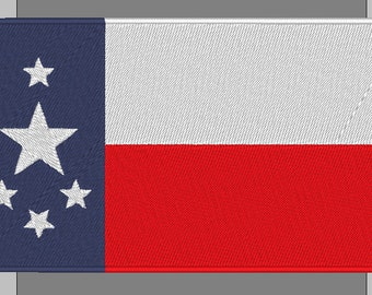 Fallout Universe Texas Commonwealth Flag Patch fc44cfd969c4