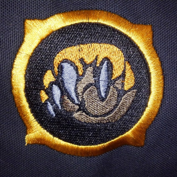 World Of Warcraft Embroidered Druid Patch Etsy
