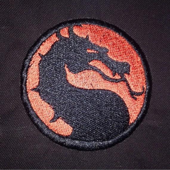 Mortal Kombat Symbol Patch Etsy