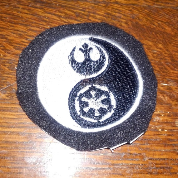 Star Wars Republic Empire Yin Yang Etsy
