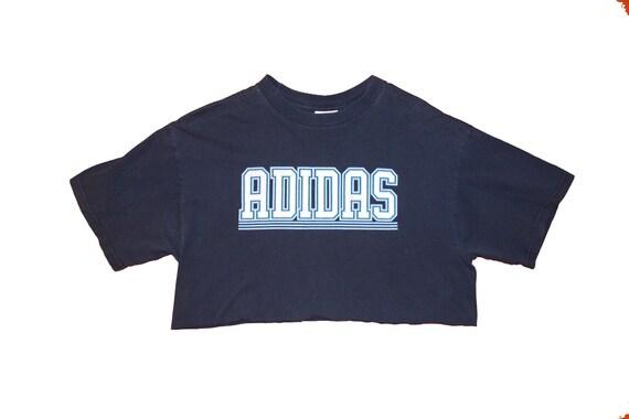 Adidas Hand cut Crop T shirt