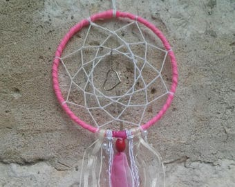Dream-catcher inspired wall hanging