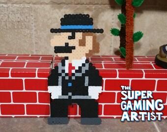 Mafia Mario | Super Mario | Super Mario Odyssey | NES | 8-bit | Retro | Geek