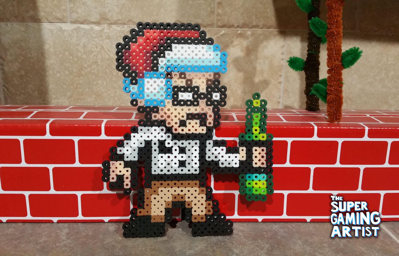 AVGN Christmas perler AVGN AVGN perler Nostalgia Critic | Etsy