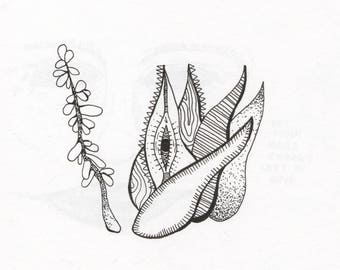 Image of: Scenery Nature Drawings Etsy Nature Drawings Etsy