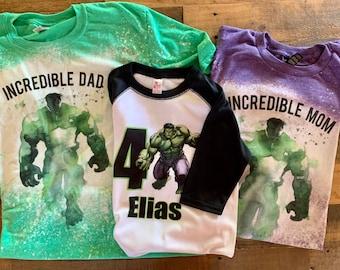 hulk birthday shirt, 5 yr old hulk birthday shirt, hulk birthday raglan, kids toddler baby