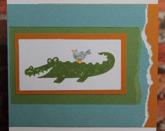 """Greeting Card - """"Wild about you!"""""""