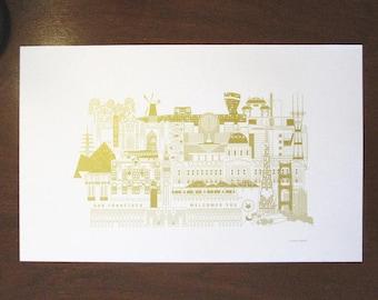 Silkscreen Prints : SF SERIES