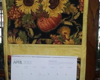 Sunflower Calendar Holder