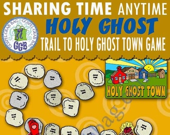 "2018 JUNE Week 2 Sharing Time ""If I live worthily, the Holy Ghost will help me choose the right."" ACTIVITY: Trail to Holy Ghost Town GAME"