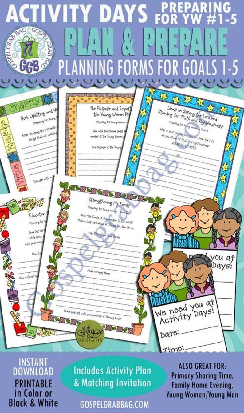 picture about 13th Article of Faith Printable known as Video game Times Organizing for Younger Gals Creating Types for Objectives 1-5, PRINTABLES: 13th Post of Religion, YW Software program, CTR, Education and learning, Relatives