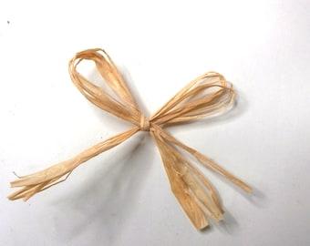 10m x Kraft Raffia Style Ribbon Gift tie Wrap tags Weddings Floristry Decoration