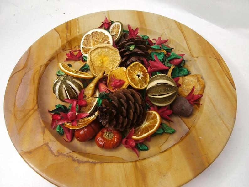 Christmas Scents Dried Cones Handmade Potpourri Pine Cones Dried Pods Dried Fruit