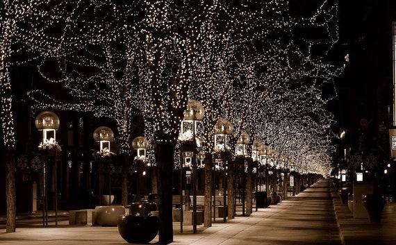 Christmas In Denver Colorado.Christmas Lights On The 16th Street Mall Denver Colorado