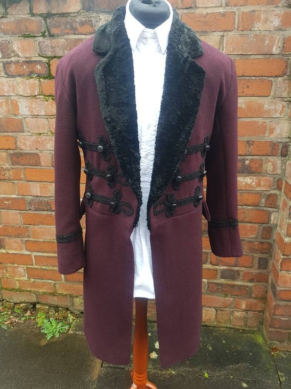 11th doctor matt smiths snowmen frock coat