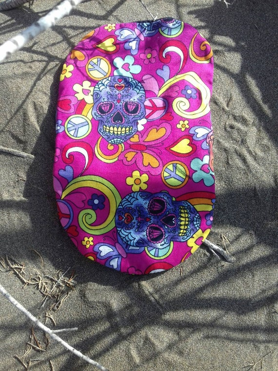 Mexican skulls ileostomy designer bag covers