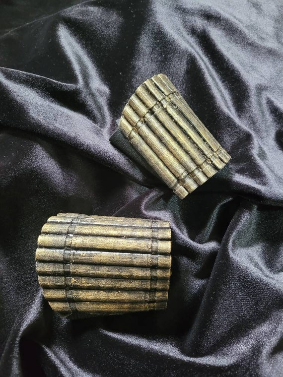 Black widow bites bracelets cosplay pair