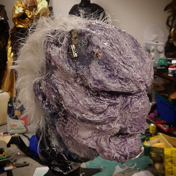 Ebony Maw silicone mask, handmade one of a kind.