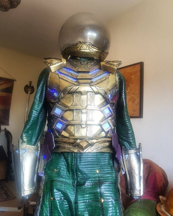 Mysterio cosplay chest armour with lights!