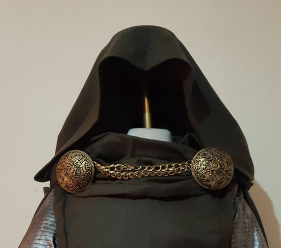 Doctor doom cosplay cloak clasps with chain