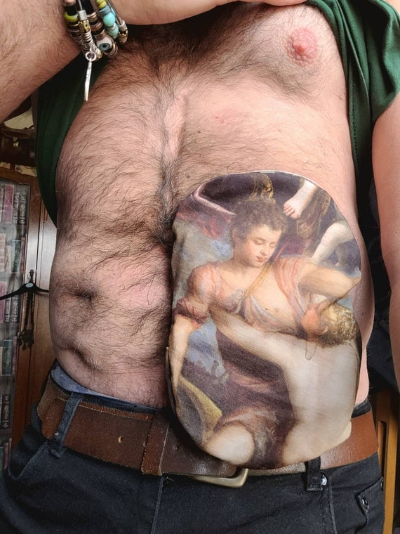 Renaissance art ileostomy designer bag covers