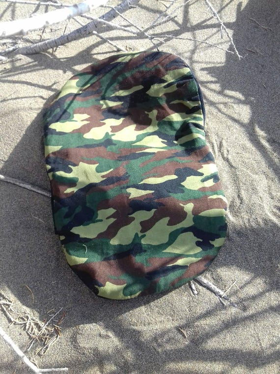 Camouflage designer ileostomy bag covers