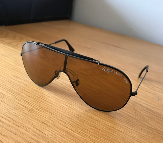 Vintage 1980's Bausch & Lomb (Ray Ban) Wings Aviat