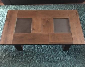 Reclaimed Oak and Steel Coffee Table