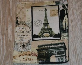 Passport Case Paris Vintage