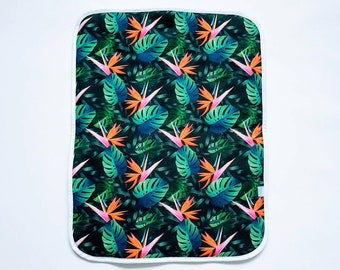 Monstera 1 - Baby Change Mat  - Travel Change Pad  - Waterproof Change Mat