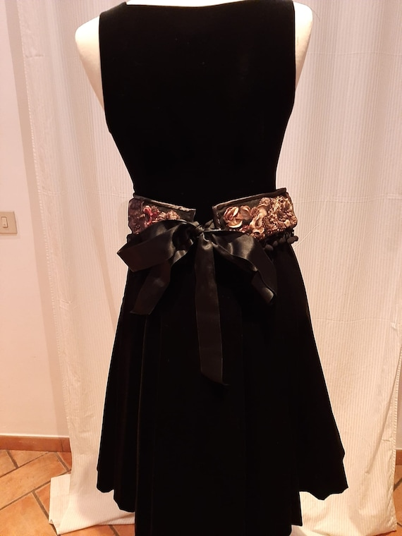 Lovely Velvet Jumper, Beautiful Black Velvet Gown