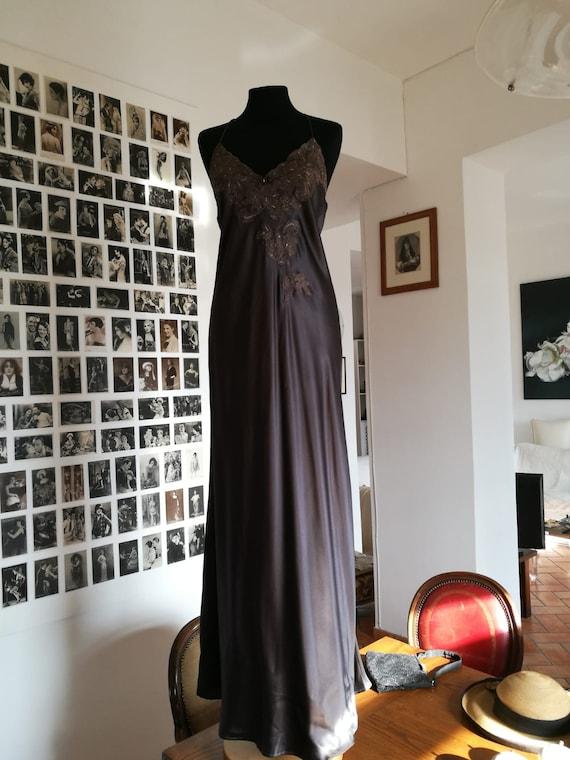 vintage petticoat pure silk/pure silk petticoat dr
