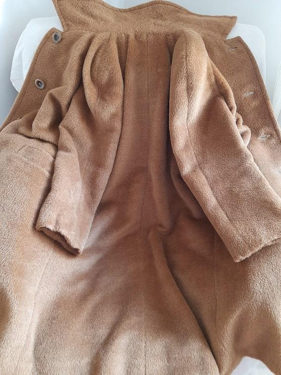MAX MARA vintage camel coat