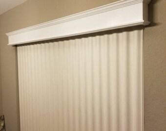 cornice window valance no sew wood cornice window valance cornice etsy