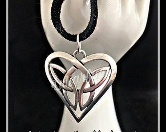 Celtic heart pendant