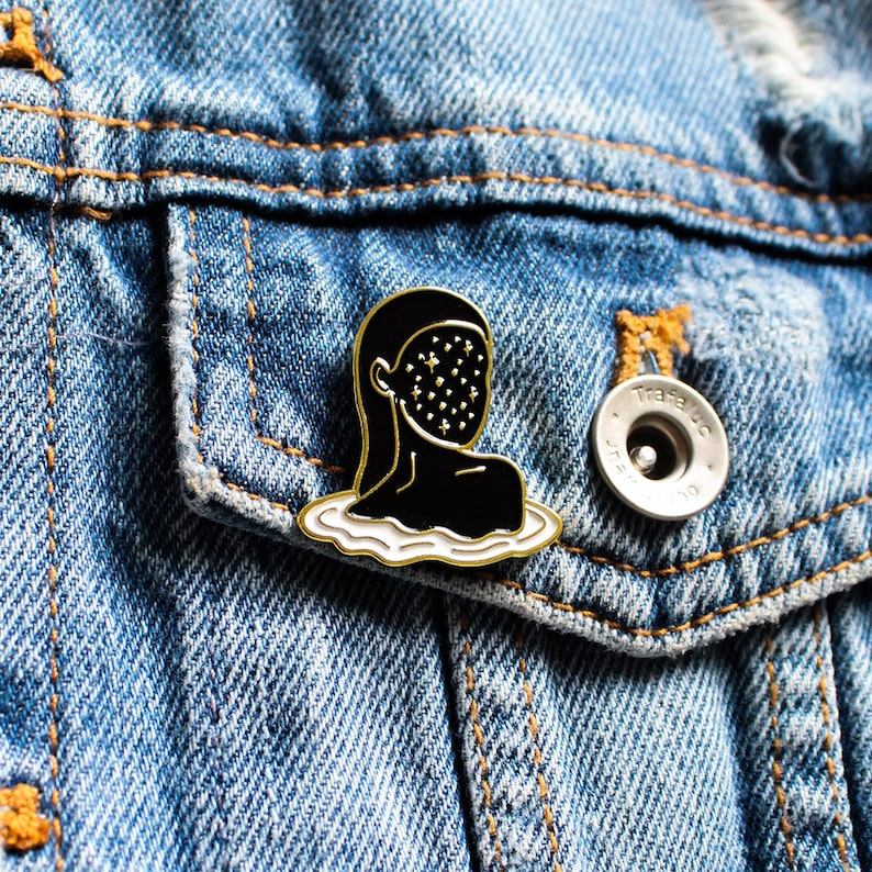 Stargazer  Enamel Pin image 0