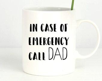 Mug for dad, gift for dad, moving away gift, dad birthday gift, funny mug for dad, funny gift for dad, mugs with sayings, dad quote mug
